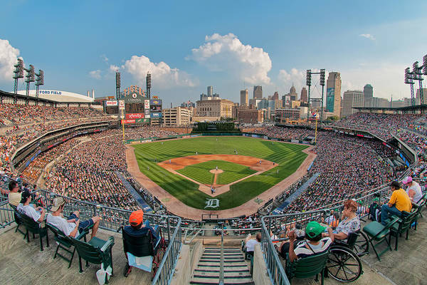 Photograph - Comerica Park by Mark Whitt