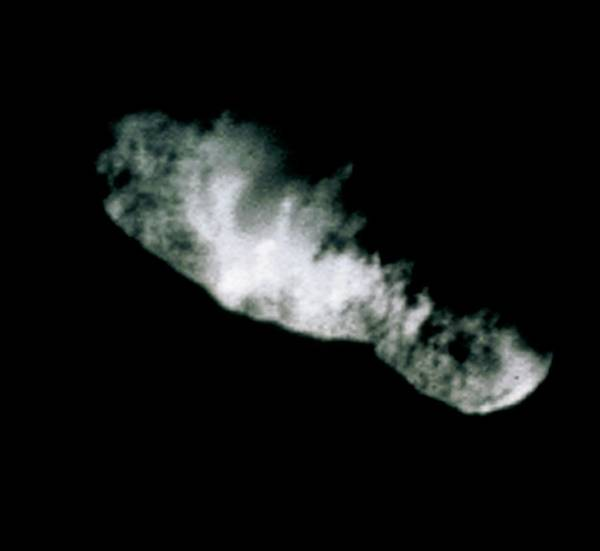 Jet Propulsion Laboratory Photograph - Comet Nucleus by Nasa/science Photo Library