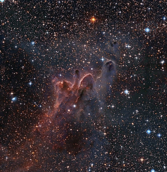 Dust Photograph - Cometary Globules Cg 303138 In The by Robert Gendler/stocktrek Images