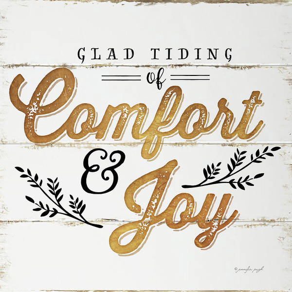 Wall Art - Painting - Comfort And Joy by Jennifer Pugh