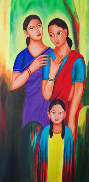 Painting - Comfort by Sonali Kukreja