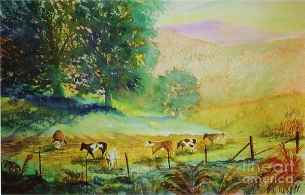 Painting - Comin' Home by Marilyn Smith