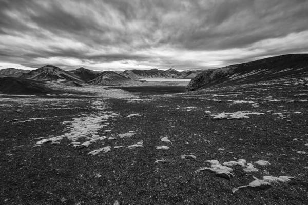 Lava Lakes Photograph - Coming And Going  II by Jon Glaser