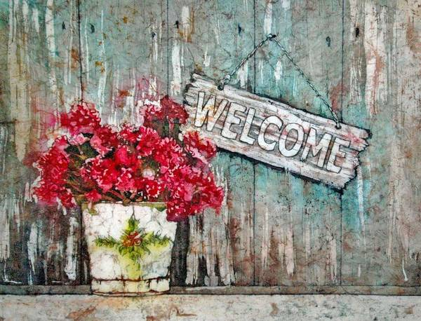 Painting - A Warm Welcome by Diane Fujimoto