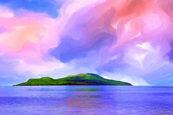 South Pacific Painting - Coming Home by Dominic Piperata
