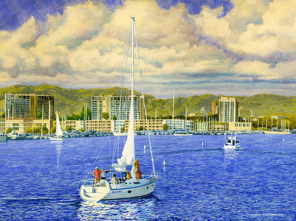 Painting - Coming Home by Douglas Castleman