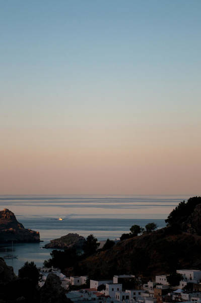Dodecanese Photograph - Coming Home To A Tranquil Haven by Tobi Corney