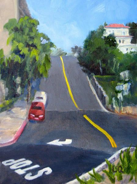 Laguna Beach Painting - Coming Or Going by Lori Quarton