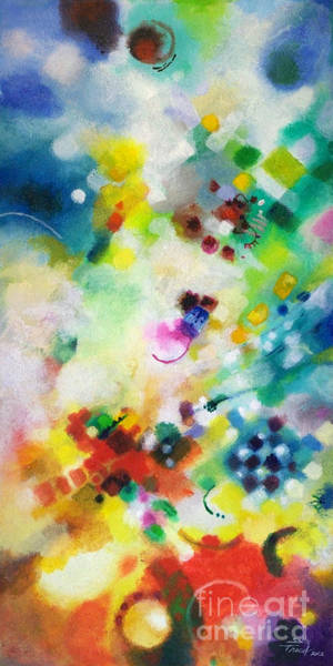 Painting - Coming Together by Sally Trace
