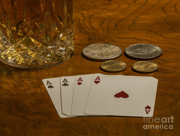Photograph - Coming Up Aces by Dale Powell