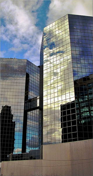 Photograph - Commerce Place II Skyscrapers  by Danielle  Parent