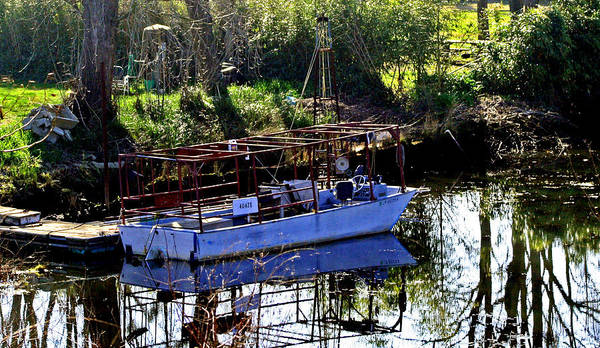 Photograph - Commercial Crawdad Boat by Joseph Coulombe
