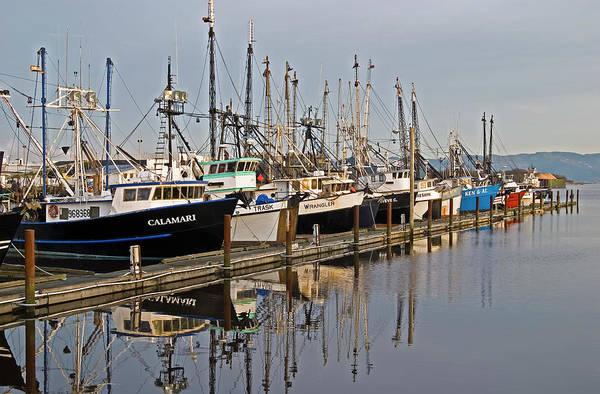 Warrenton Wall Art - Photograph - Commercial Fishing Boats Dock by Robert L. Potts
