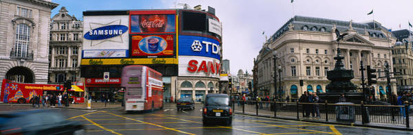 Wall Art - Photograph - Commercial Signs On Buildings by Panoramic Images