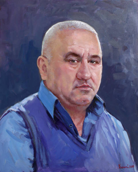 Portrait Commission Painting - Commissioned Portrait by Ylli Haruni