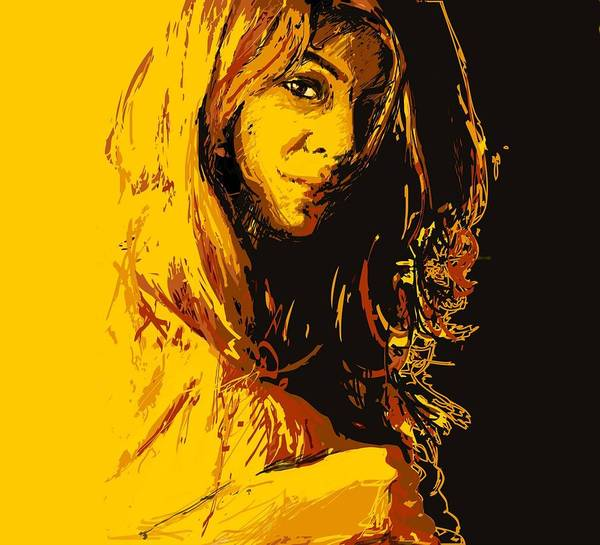 Catf Wall Art - Painting - Commissioned Portraits by Catf
