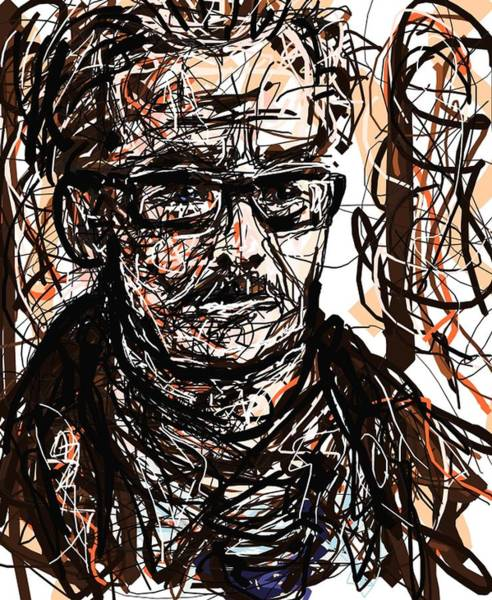 Digital Art - Commissioner Gordon II by Rachel Scott