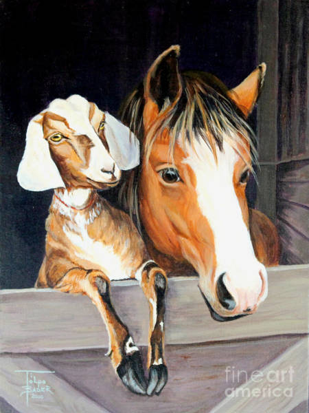 Painting - Companions by Art By - Ti   Tolpo Bader