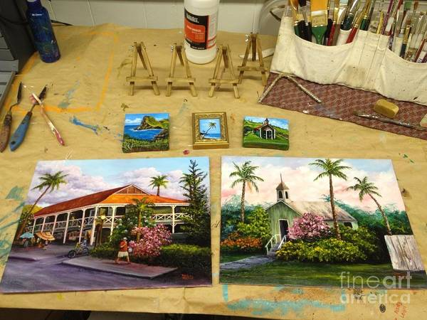 Painting - Comparison  by Darice Machel McGuire