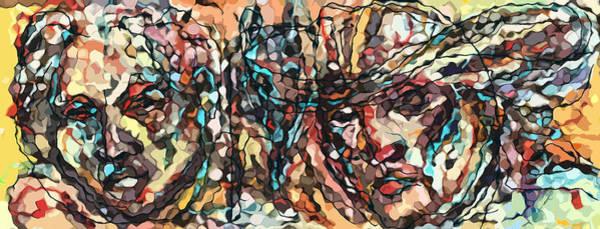 Ranchera Wall Art - Digital Art - Compesinos 2013 by Jimmy Longoria