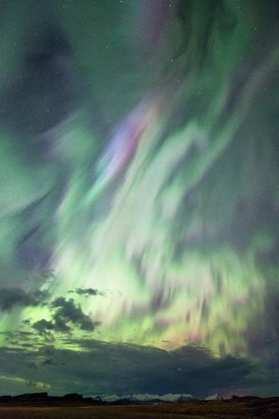 Proton Photograph - Complex Aurora by Dr Juerg Alean