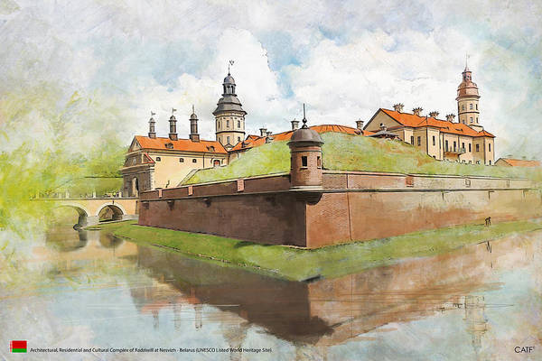 Cultural Center Wall Art - Painting - Complex Of Radziwill by Ctaf