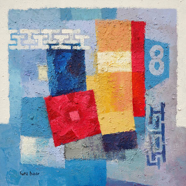 Painting - Composition 8 by Lutz Baar