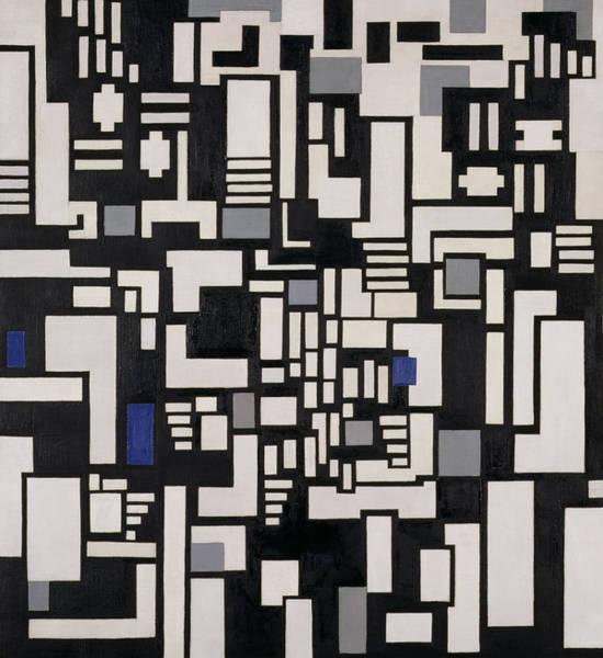 De Stijl Painting - Composition Ix by Theo Van Doesburg
