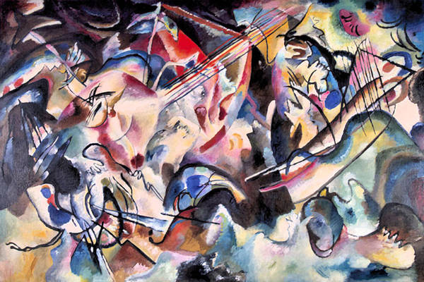 Painting - Composition Vi  by Wassily Kandinsky