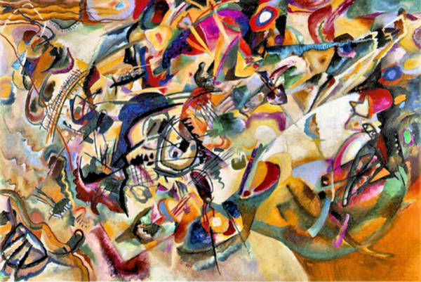 Wassily Kandinsky Painting - Composition Vii  by Wassily Kandinsky
