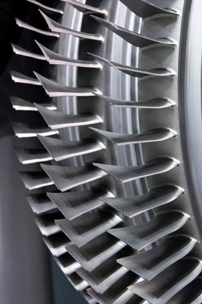 Air Show Photograph - Compressor Blades by Mark Williamson