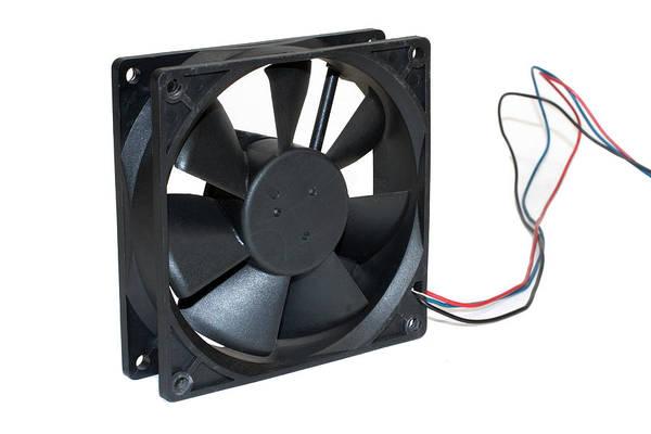 Photograph - Computer Cooling Fan by Gunter Nezhoda