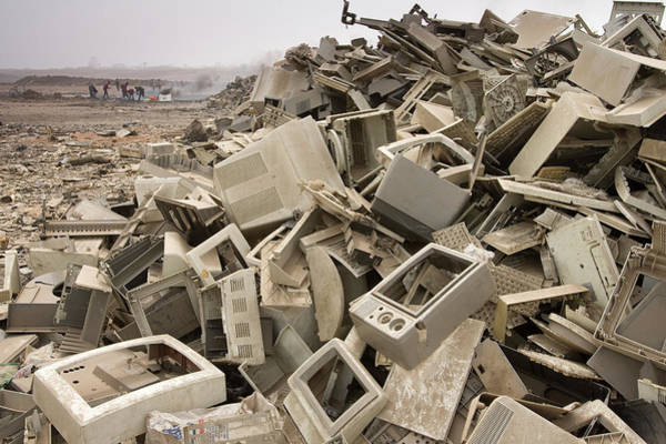 Wall Art - Photograph - Computer Dumping In Accra, Ghana by Peter Essick