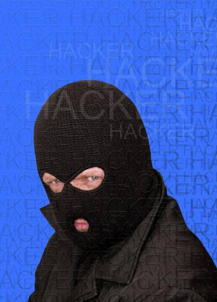 Wall Art - Photograph - Computer Hacker by Victor Habbick Visions/science Photo Library