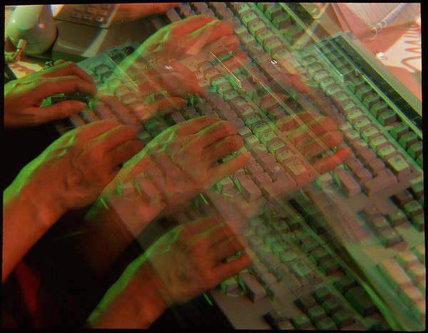 Fraud Photograph - Computer Keyboard by Adam Hart-davis/science Photo Library