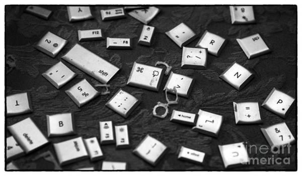 It Professional Photograph - Computer Keys by Iris Richardson