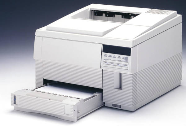 Technological Photograph - Computer Printer by Ton Kinsbergen/science Photo Library