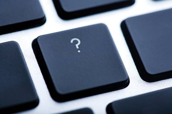 Question Photograph - Computer Question by Mauro Fermariello/science Photo Library