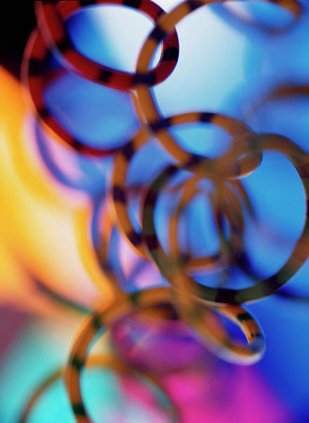 Computer Wires Art Print
