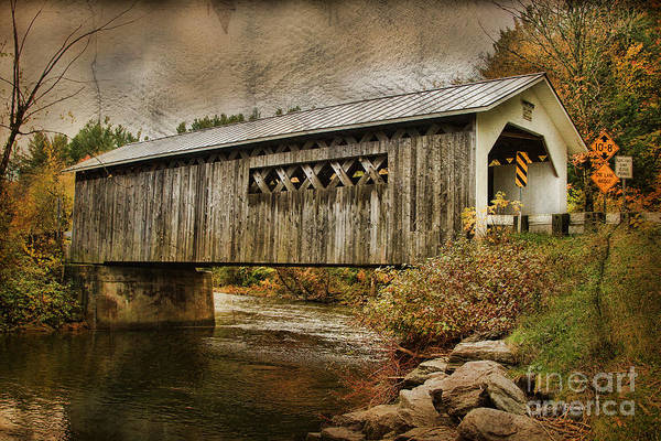 Photograph - Comstock Bridge 2012 by Deborah Benoit