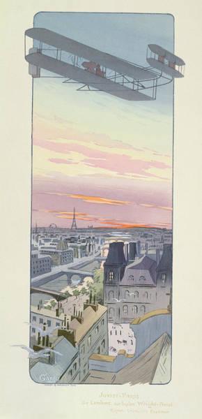 Comte Wall Art - Painting - Comte Charles De Lambert Flying by Marguerite Montaut