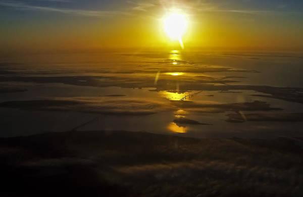 Photograph - Conanicut Island And Narragansett Bay Sunrise II by Greg Reed