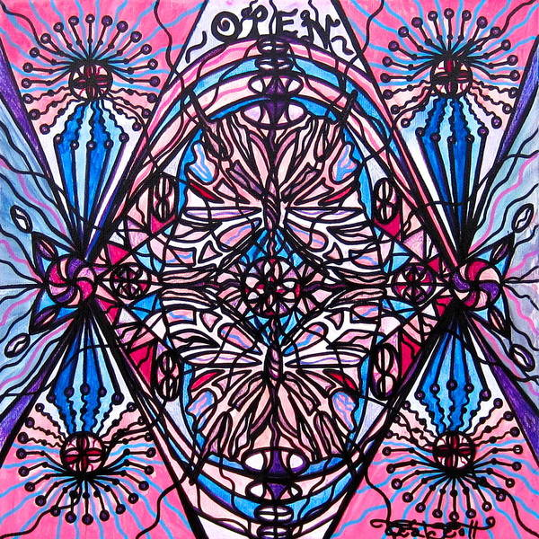 Allopathy Wall Art - Painting - Conceive by Teal Eye Print Store