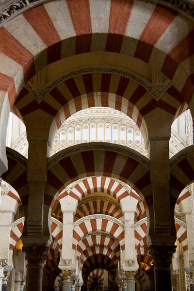 Photograph - Concentric Arabic Arches by Levin Rodriguez