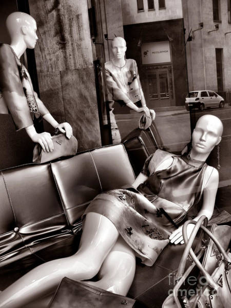 Photograph - Mannequins by Daliana Pacuraru