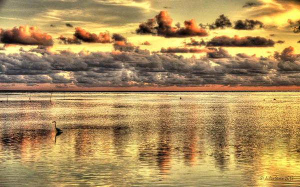 Conch Key Bay Sunset Art Print