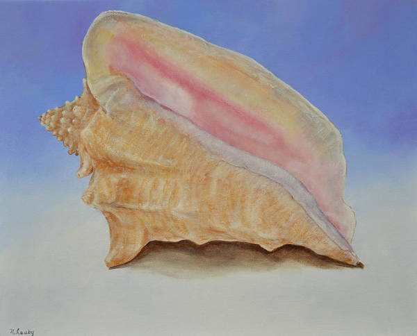 Painting - Conch Shell by Nancy Lauby