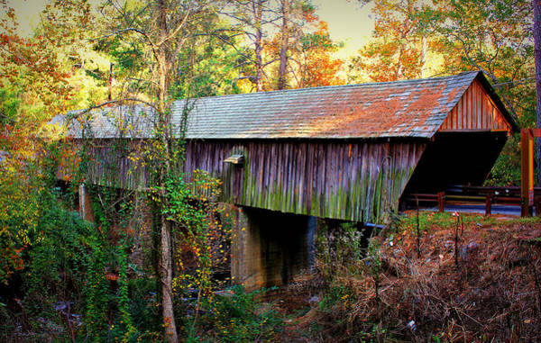 Photograph - Concord Covered Bridge 2 by Reid Callaway