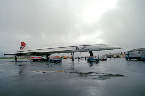 Atlantic Station Photograph - Concorde Refuelling by Us National Archives