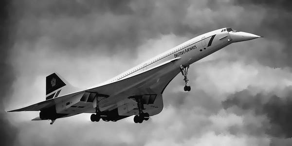 Concorde Supersonic Transport S S T Art Print